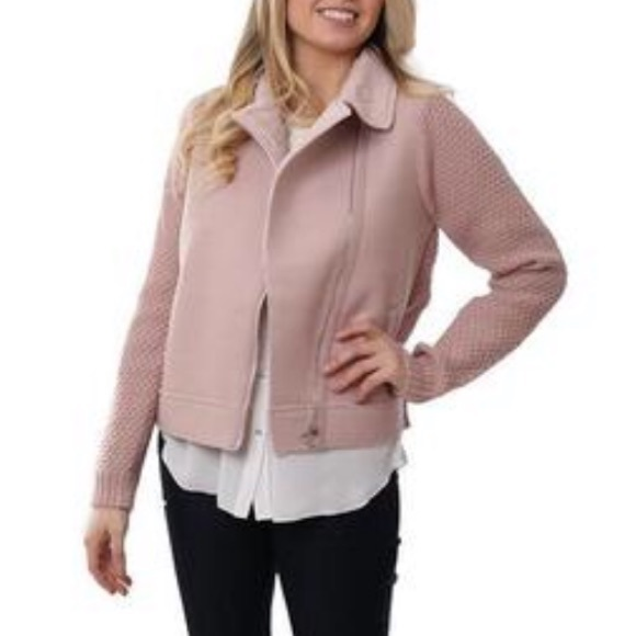 Metric knots Moto jacket sweater NWT xl